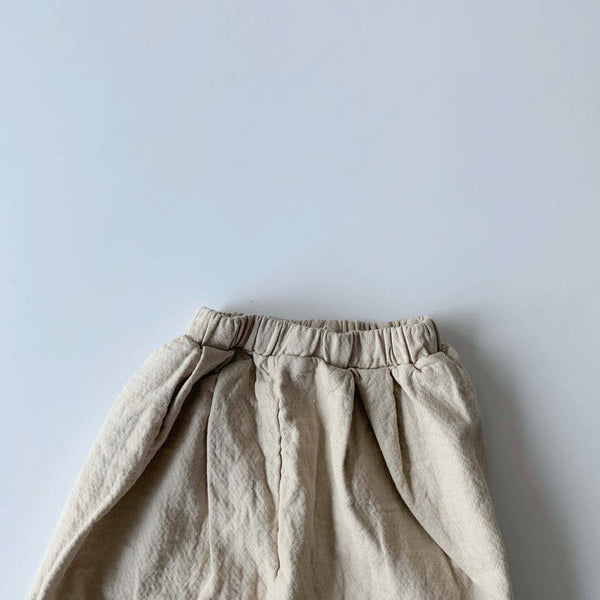 BB Easy Pants, Light Beige (5-6Y)