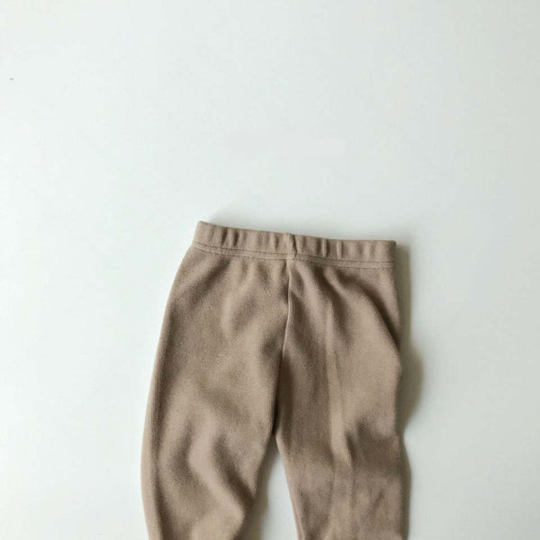 BB Hacci Leggings (Light Olive, 3-5Y)
