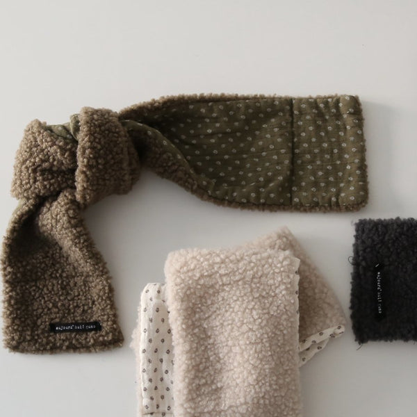 Sherpa Flat Scarf, 3 Colours