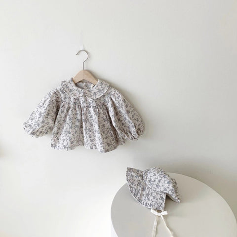 Esther Floral Blouse (3-4Y, last)