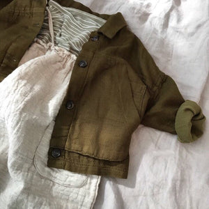 Pocket Soft Anorak Jacket, Olive