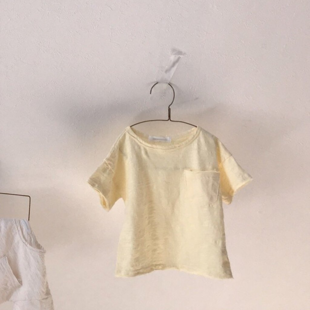 Melange Summer Top, Yellow