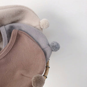 Cozy Pom Pom Bonnet, 3 Colours