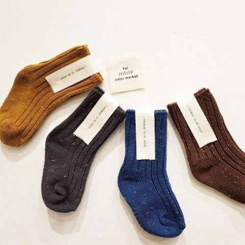 Speckled Cozy Socks B Set (set of 4)