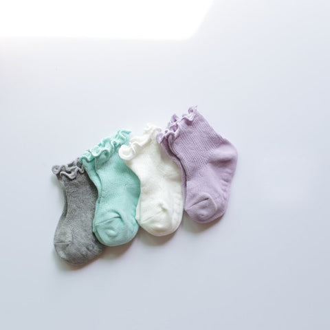 Mini Heart Baby Socks Set