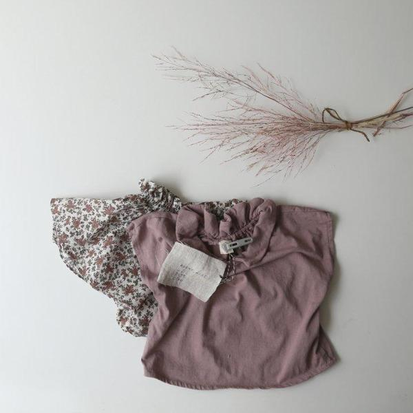 Reversible Collar Top, Dusty Rose