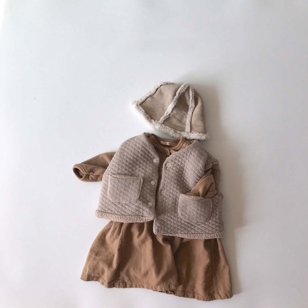Bea Layering Dress, Light Brown