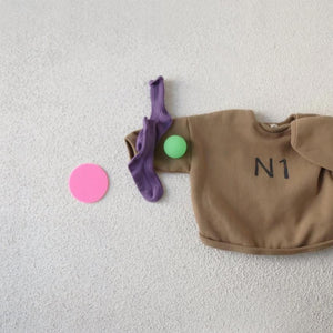 N1 Sweatshirt, Light Mustard (5-6Y)