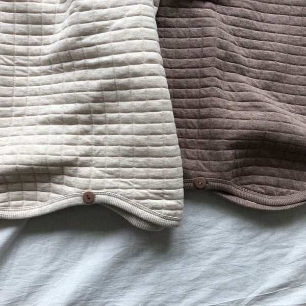 Quilted Sleep Vest, Oatmeal