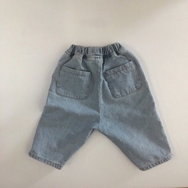 Soft Denim Pants, Light Wash(3-5Y)