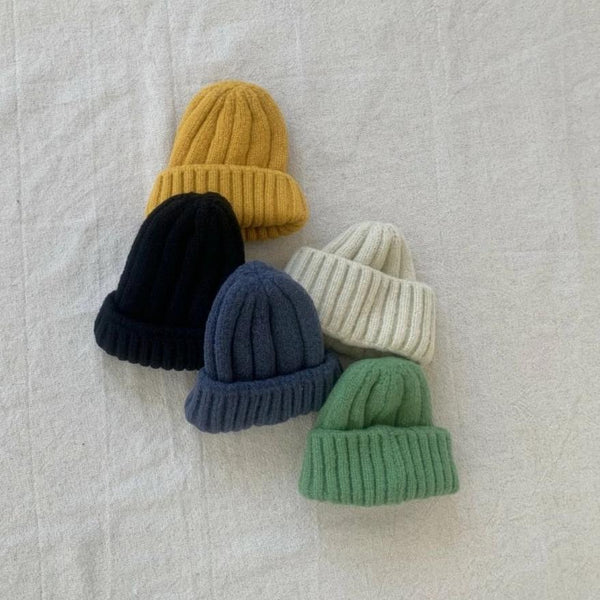 Colour Knit Beanie, 3 Colours