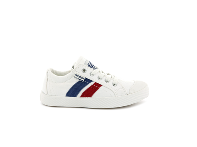 55722-116-M | PALLAFLAME LOW CANVAS | STAR WHITE