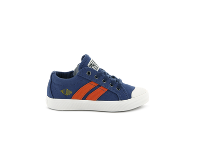55722-427-M | PALLAFLAME LOW CANVAS | TWILIGHT BLUE/STAR WHITE