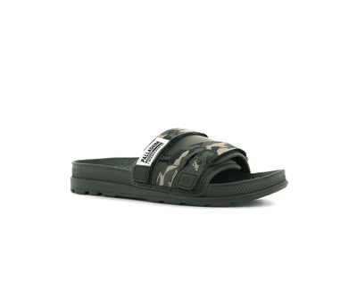 76696-939-M | SOLEA SLIDE | OLIVE NIGHT/CAMO