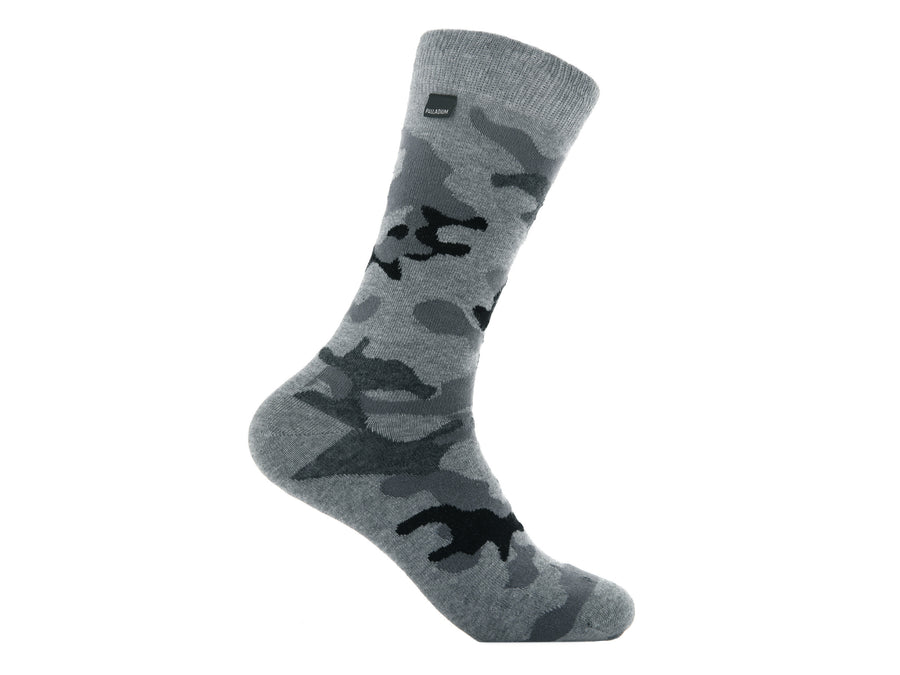 SX0114-060 | MEN'S CREW CAMO | GREY