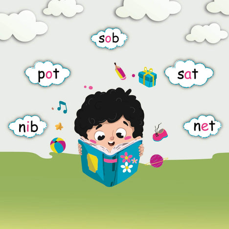 young reader phonics program for 4 yearls olds.