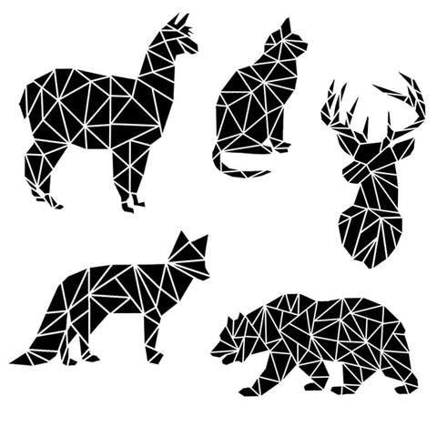 Fractured Animal Silhouette SVG/PNG/EPS/JPG Files