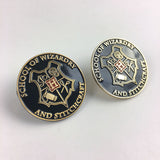 School of Wizardry and Stitchcraft Enamel Pins