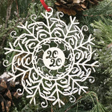 """Fuckflake"" Naughty Snowflake Ornaments"