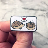 Hedgehog Pincushion Love Needle Minder