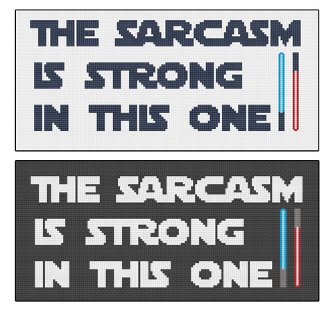 The Sarcasm Is Strong In This One Cross Stitch Pattern
