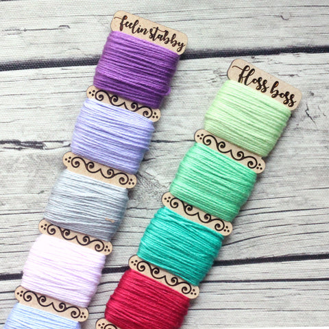 Embroidery Floss Organizer for 5 Colors