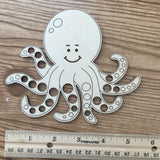 Magnetic Octopus Embroidery Floss Organizer & Needle Minder