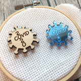 Corona Virus, Covid 19, 2020 Engraved Needle minders Acrylic or Wooden