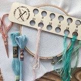Embroidery Floss Organizer for 18 Colors