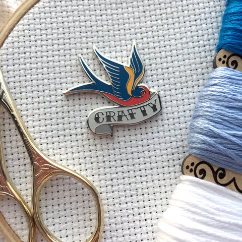 Crafty Swallow Needle Minder