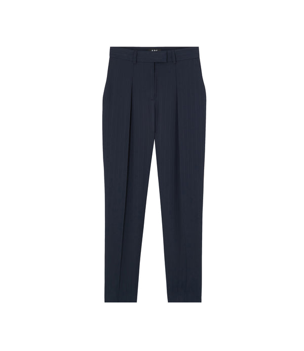 Sandra pants - IAK - Dark navy blue