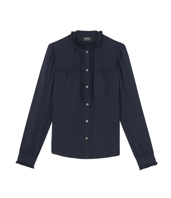 Zola shirt - IAK - Dark navy blue