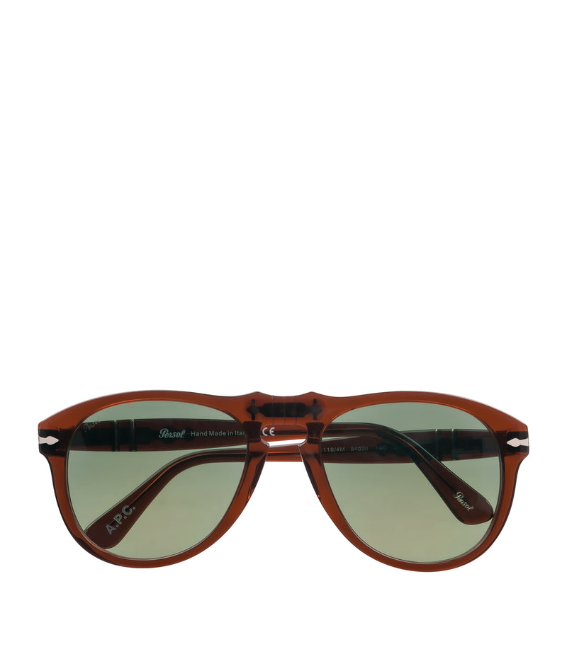 This is the Persol 649 sunglasses product item. Style CAD-1 is shown.