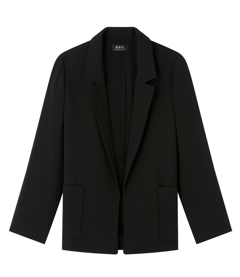 This is the Taylor jacket product item. Style Taylor jacket is shown.
