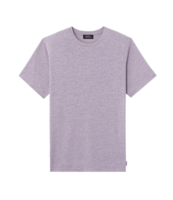 Jimmy T-shirt - PIQ - Heather violet