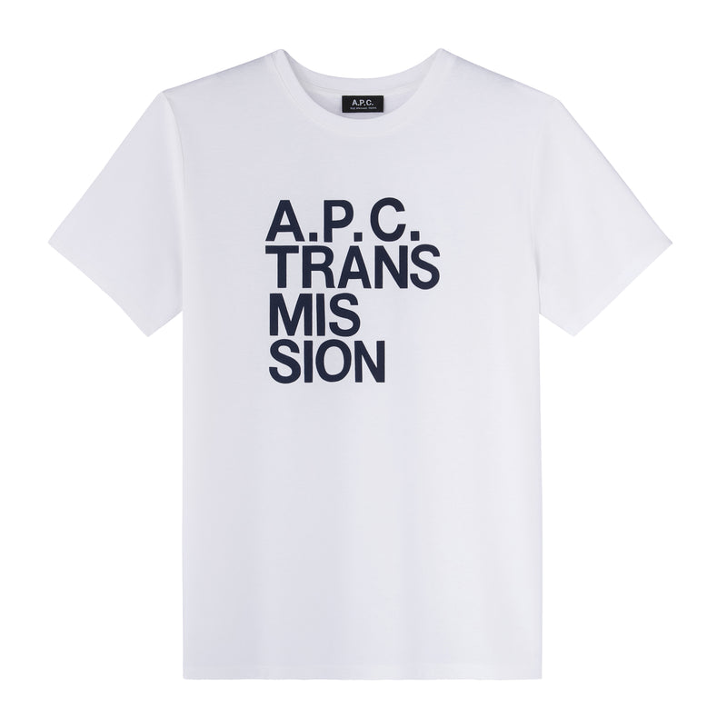 This is the Transmission T-shirt product item. Style AAB-1 is shown.