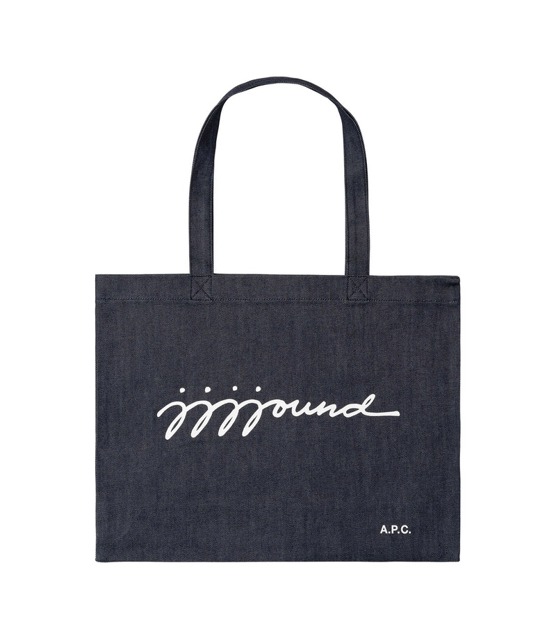This is the JJJJound shopping bag product item. Style IAI-1 is shown.