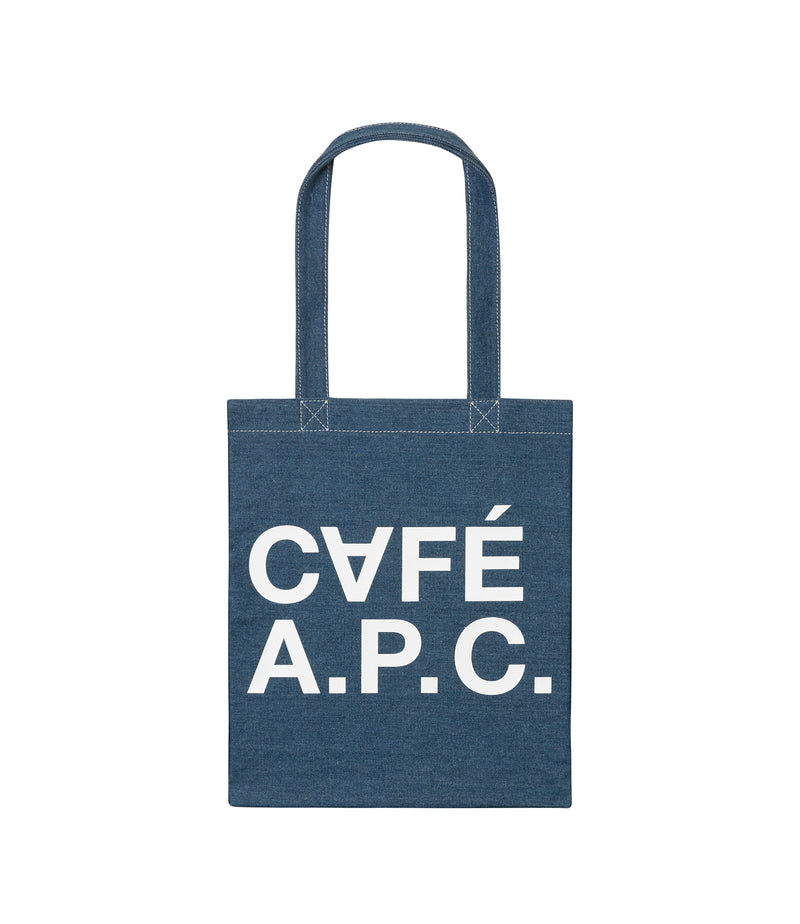 This is the CAFÉ A.P.C. tote product item. Style IAL-1 is shown.