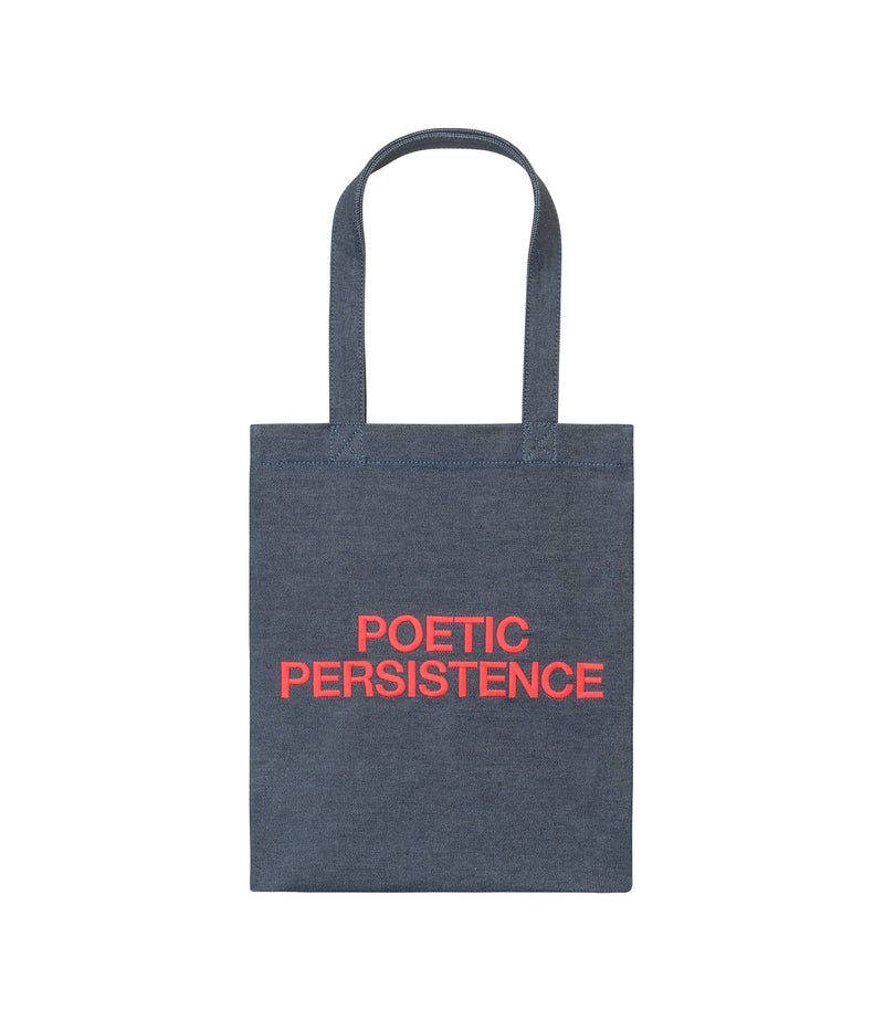 This is the Poetic Persistence tote bag product item. Style GAA-1 is shown.