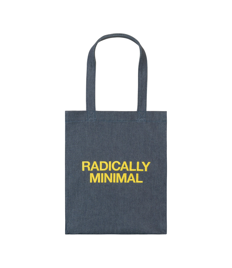 This is the Radically Minimal tote bag product item. Style DAA-1 is shown.
