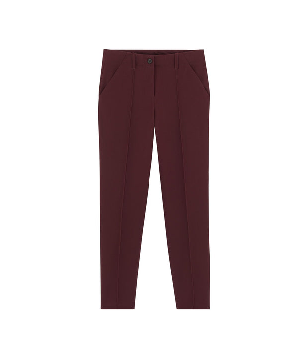 Augusta trousers - GAC - Burgundy