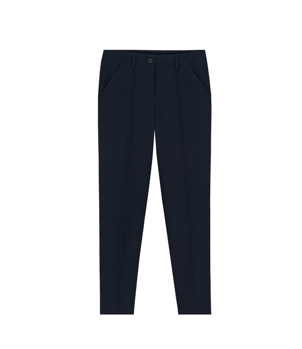 Augusta trousers - IAK - Dark navy blue