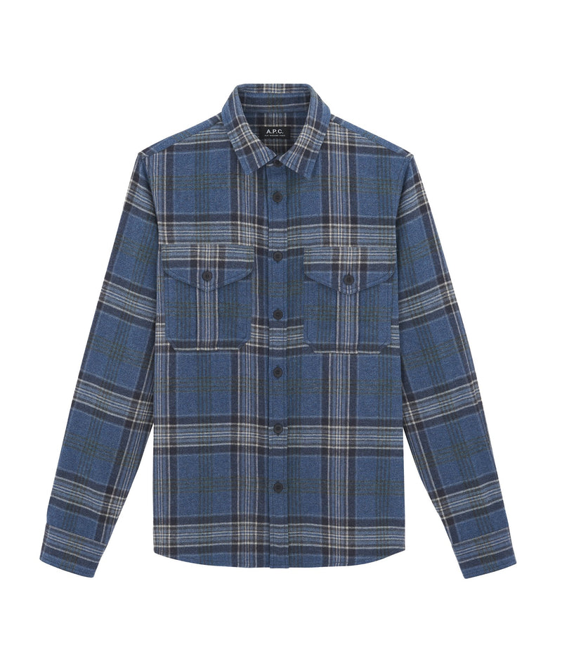 This is the Breton overshirt product item. Style PIA-1 is shown.