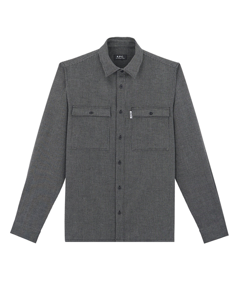 This is the Enrico overshirt product item. Style LZA-1 is shown.