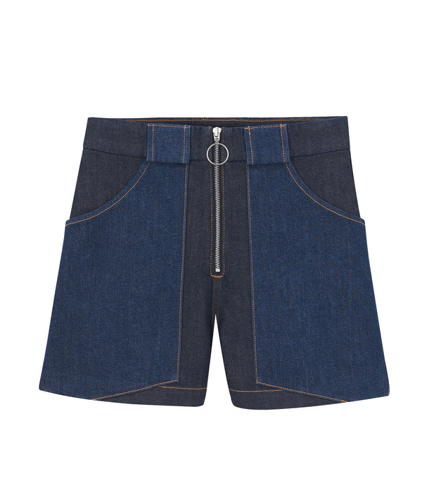 Chrissie shorts - IAL - Stonewashed indigo