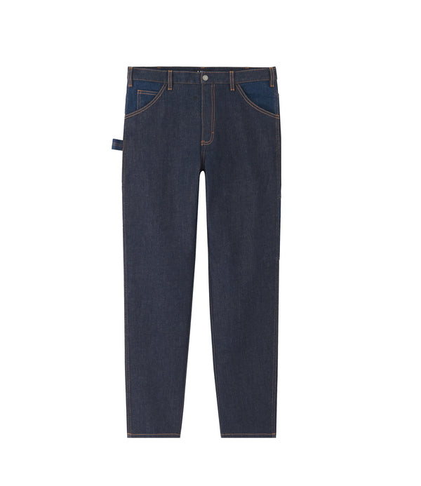 Job pants - IAL - Stonewashed indigo