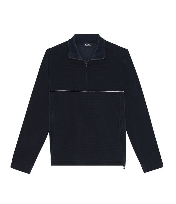 Bike sweatshirt - IAK - Dark navy blue