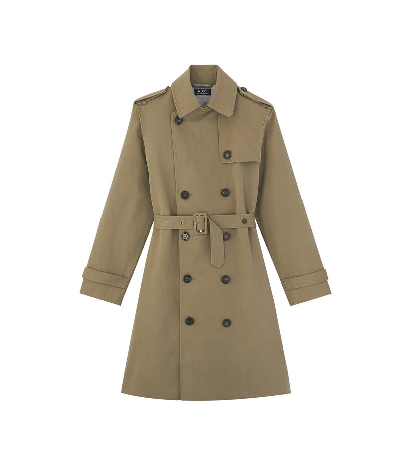 This is the Joséphine trench coat product item. Style JAA-1 is shown.