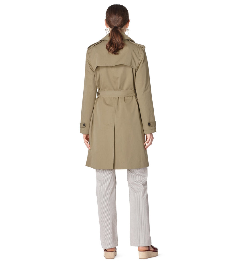 This is the Joséphine trench coat product item. Style JAA-3 is shown.