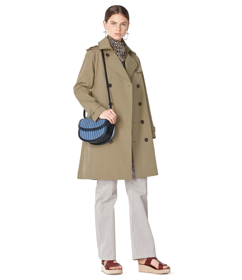This is the Joséphine trench coat product item. Style JAA-2 is shown.